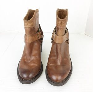 🍀 SZ 5.5 Lucky Brand Brown Ankle Boots